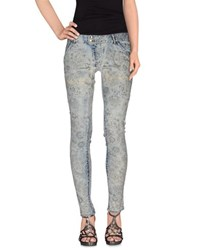 Met Denim Denim Trousers Women