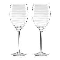 Kate Spade Charlotte Street Wine Glasses Set Of 2