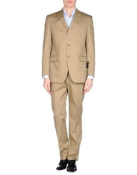 Enrico Coveri Suits Camel