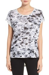 Vince Camuto Women's Two By Print Burnout Tee