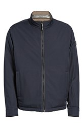 Tumi Men's Reversible Jacket Khaki Navy