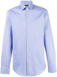 Hugo Boss Plain Shirt Blue