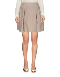 North Sails Skirts Mini Skirts Beige