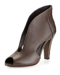 Elliott Lucca Alessandra Woven Cutout Bootie Mineral