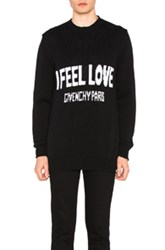 Givenchy I Feel Love Sweater In Black