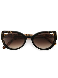 Martha Medeiros Cat Eye Sunglasses Acetate Brown