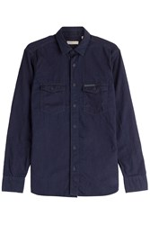 Burberry Brit Denim Shirt Blue