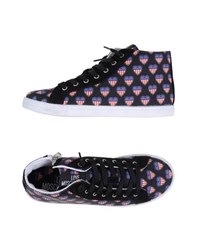 Love Moschino Footwear High Tops And Trainers Women Black