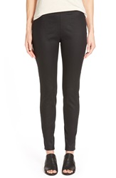 Eileen Fisher Stretch Twill Leggings Regular And Petite Black