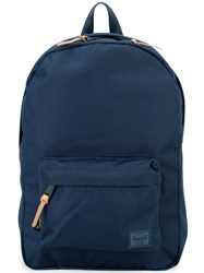 Herschel Supply Co. Front Pocket Backpack Blue