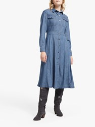 And Or Jess Shirt Dress Denim