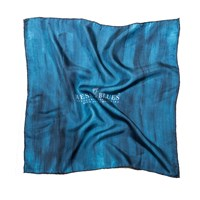 Mess Of Blues Italian Silk Handkerchief
