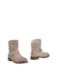 Mr. Wolf Ankle Boots Dove Grey