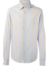 Romeo Gigli Vintage Striped Shirt Multicolour