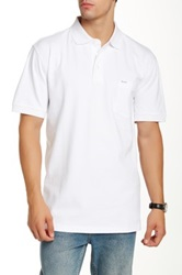 Faconnable Pique Polo Shirt White