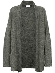 John Elliott Oversized Cardigan Men Cotton Linen Flax M Grey