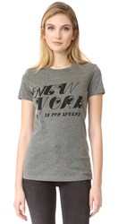 Barber New York Is For Lovers Tee Heather Grey