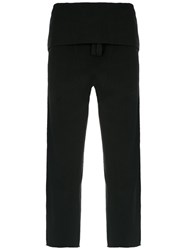 Osklen Layered Trousers Cotton P Black