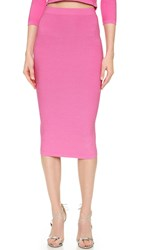 Cushnie Et Ochs Knit Pencil Skirt Pink