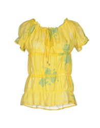 Gas Jeans Blouses Yellow
