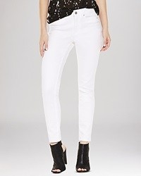 Two By Vince Camuto Cropped Skinny Jeans In Ultra White