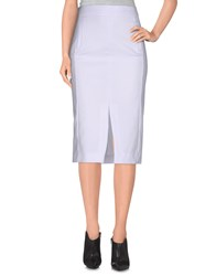 Noshua Skirts 3 4 Length Skirts Women White