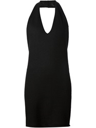 Rick Owens Long Halter Top Blue