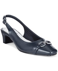 Easy Street Shoes Easy Street Amelia Slingback Pumps Women's Shoes