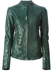 Isaac Sellam Experience Distressed Leather Jacket