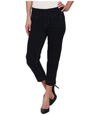 Jag Jeans Hope Pull On Slim Fit Crop Denim In After Midnight After Midnight Women's Jeans Black