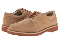 Nunn Bush Bloomington Plain Toe Oxford Lace Up Sand Suede Men's Shoes Tan
