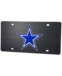 Stockdale Dallas Cowboys Carbon License Plate Gray