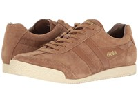 Gola Harrier Tobacco Tobacco Off White Men's Shoes Brown