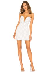 By The Way Kylee Strapless Dress White