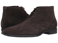 Aquatalia By Marvin K Ace Dark Brown Dress Suede Men's Shoes