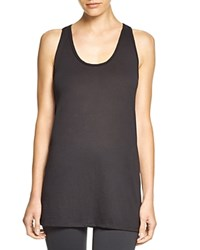 Yummie Tummie By Heather Thomson Slim Racer Tank Black