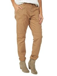 Fat Face Seamed Worker Trousers Dune