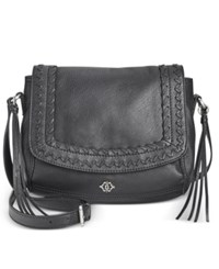 Nanette Lepore Cortina Flap Crossbody Black