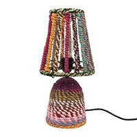 Ian Snow Wrapped Rag Table Lamp