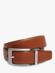 Ted Baker Karmer Reversible Leather Belt Tan