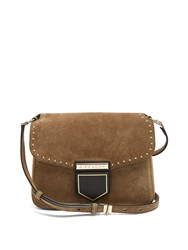 Givenchy Nobile Small Suede Cross Body Bag Khaki