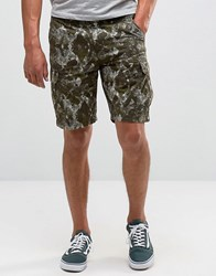 Element Printed Cargo Shorts Black