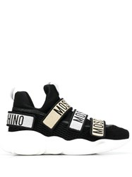 Moschino Teddy Strap Sneakers Black