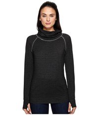 Kuhl Alea Long Sleeve Charcoal Women's Long Sleeve Pullover Gray