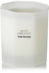 Tom Daxon White Narcissus Scented Candle Colorless