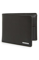 Porsche Design 'Cl2 2.0' Leather Billfold Wallet Black