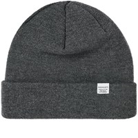 Norse Projects Top Beanie Grey