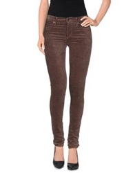 Citizens Of Humanity Casual Pants Dark Brown