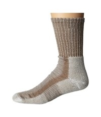 Thorlos Light Hiking Crew Single Pair Walnut Men's Crew Cut Socks Shoes Brown