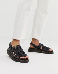 Dr. Martens Dr 8092 Arc Sandals In Black